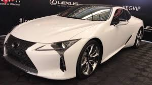 lexus lc 500 news and 2018 lexus lc 500 review youtube