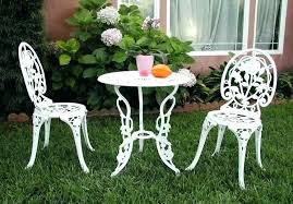 white metal garden chairs cad75 com