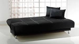 vegas rainbow black convertible sofa bed by sunset