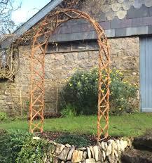 hazel chris cross garden arch