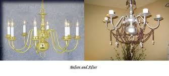 Chandelier Candle Diy Electric To Candle Chandelier Up Cycle