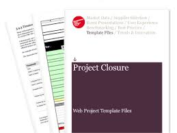 closure report template project closure web project template files econsultancy
