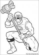 power rangers coloring pages coloring book