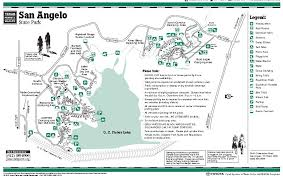 map of san angelo san angelo state park trailmeister