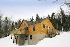 One Story Log Cabins One Story Modular Log Homes By Abc Modular Log Homes Llc