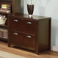 Lateral File With Storage Cabinet Cherry Wood Two Drawer File Cabinet