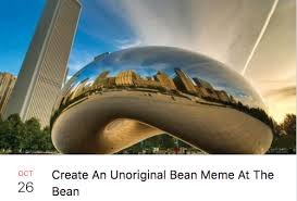 chicago map meme the most hilarious events happening at the bean according to
