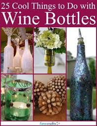 What To Do With Leftover Tile by 30 Things To Do With Old Wine Bottles Favecrafts Com