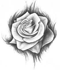 beautiful bleeding rose tattoos i might get or just think are