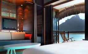 House Over Water Overwater Bungalows With Glass Floor