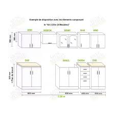 dimension caisson cuisine hauteur des meubles de cuisine idées décoration intérieure