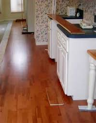 How To Install Hardwood Floors On Concrete Without Glue - installing hardwood over vinyl vct tiles