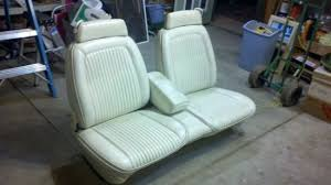 Dodge Truck Bench Seat When You See A Clean Corinthian Leather Bench Seat In The Junkyard