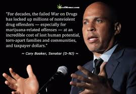 Cory Booker Meme - cory booker weed quote failed war on drugs weed memes