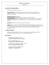 Technical Skills In Resume Examples by Resume 2016 Latest Resume Format And Samples Intended For Job
