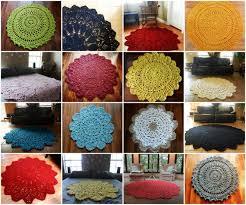 74 best crochet rugs images on pinterest crochet doily rug