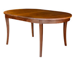 wonderful decoration oval dining table with leaf shining design