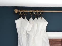Curtain Ring Clips Walmart Best 25 Wooden Curtain Rods Ideas On Pinterest Wood Curtain