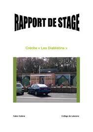 rapport de stage 3eme cuisine rapport de stage brevet des collèges 3ème by barroso christine issuu
