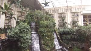 tour of the indoor gardens at the gaylord opryland resort
