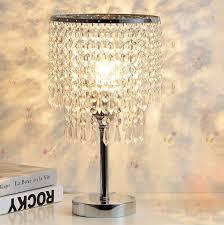 How To Make A Beaded Chandelier Hile Lighting Ku300085 Chrome Round Crystal Chandelier Bedroom