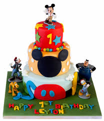 mickey mouse clubhouse birthday cake 3 tier mickey mouse clubhouse cake
