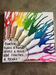 chalkboard crayon wreath u2013 great teacher gift idea michaelsmakers