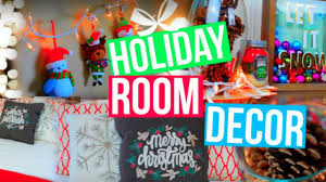 Easy Ways To Decorate Your Room For Christmas Diy Holiday Room Decor How To Make Your Room Cozy For Christmas