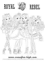 monster coloring pages print girls http east color