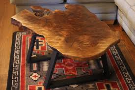 tree ring coffee table in stock and for sale littlebranch farm rustic log furniture