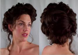 Hair Style Of 1800 | how to gibson girl hair edwardian victorian vintage retro hairstyle