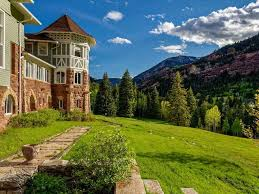 English Tudor Style House by English Tudor Style American Castle In The Rocky Mountains