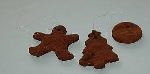 dough ornament recipes and scented cut outs including gingerbread
