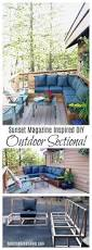 25 Unique Diy Furniture 2x4 by Best 25 Outdoor Sectional Ideas On Pinterest Diy Patio