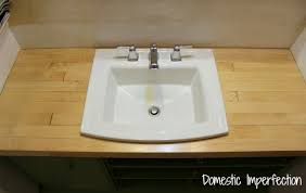 Bathroom Counter Top Ideas Bathroom Remodel Build A Counter Out Of Wood Flooring Domestic