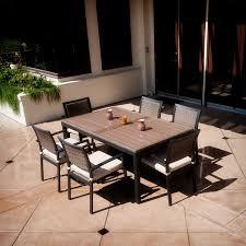ceramic tile top patio table hton bay dining table hton bay pembrey 40 in square patio