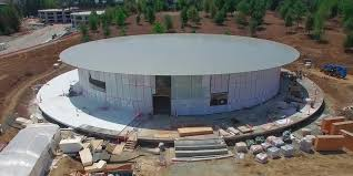 new apple campus roof design inspired by macbook air laptop
