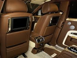 roll royce ghost white mansory rolls royce ghost white interior rear seats wallpaper 13