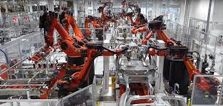bmw factory robots tesla u0027s new u0027advanced automation u0027 group will drop all other
