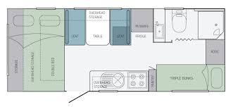 Jayco Caravan Floor Plans Jayco Starcraft Caravan 19 61 3 Eastern Caravans