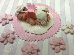 how to your cake topper sweet angel baby girl cake topper made of vanilla fondant