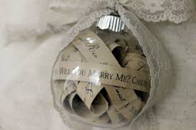 will you me ornament rustic will you me