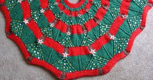 knitting pattern for a tree skirt