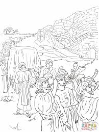 battle of jericho coloring page eson me