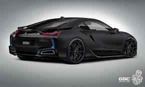 Bmw I8 All Electric - german tuner gives bmw i8 an itron makeover