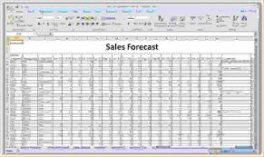 Forecast Spreadsheet Template sales projection spreadsheet pertamini co