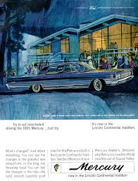 car advertisement illustrated 1964 car ad ford mercury in lincoln continen u2026 flickr