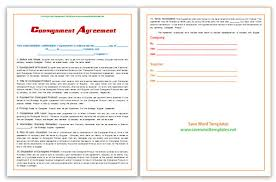 microsoft word templates consignment agreement template