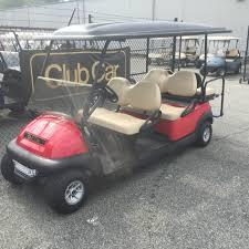 2012 club car precedent electric stretch 6 passenger red