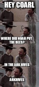 Carl Walking Dead Meme - hey coarl carl walking dead meme on memegen